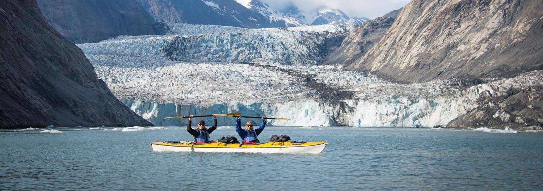 Liz Gifford at McBride Glacier